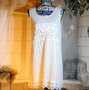 'Kori America' Embroidered Summer Dress Size Small